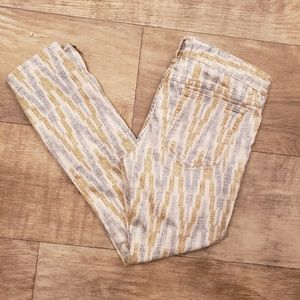 Free People size 27 Cropped jeans
